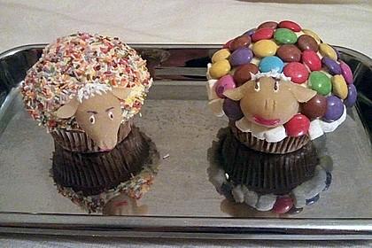 Cupcake-Schafe mit Marshmallow-Frosting 141