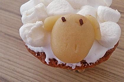 Cupcake-Schafe mit Marshmallow-Frosting 149