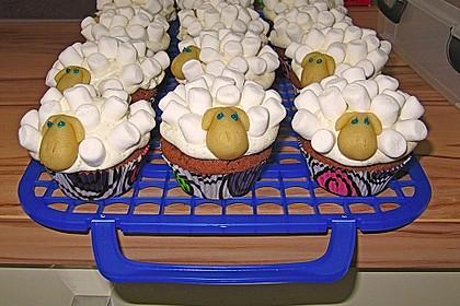 Cupcake-Schafe mit Marshmallow-Frosting 124