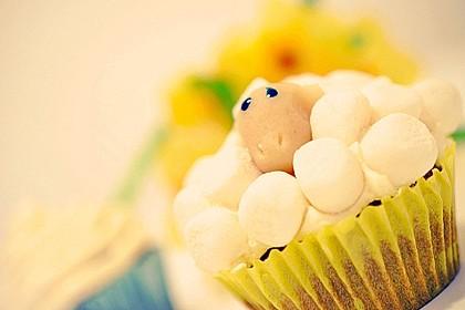 Cupcake-Schafe mit Marshmallow-Frosting 157