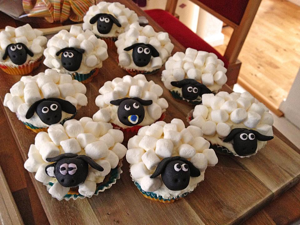 cupcake schafe mit marshmallow frosting von linlin85. Black Bedroom Furniture Sets. Home Design Ideas
