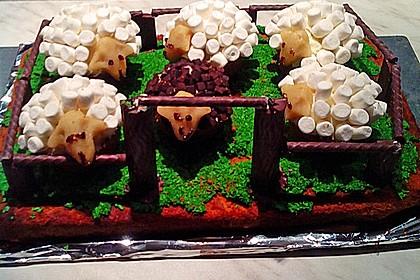 Cupcake-Schafe mit Marshmallow-Frosting 158