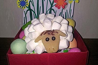 Cupcake-Schafe mit Marshmallow-Frosting 89