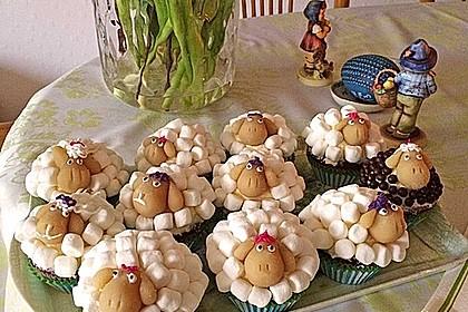 Cupcake-Schafe mit Marshmallow-Frosting 24