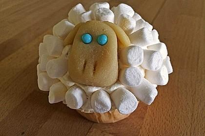 Cupcake-Schafe mit Marshmallow-Frosting 120