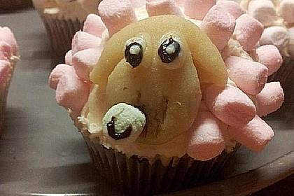 Cupcake-Schafe mit Marshmallow-Frosting 110