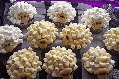 Cupcake-Schafe mit Marshmallow-Frosting 153