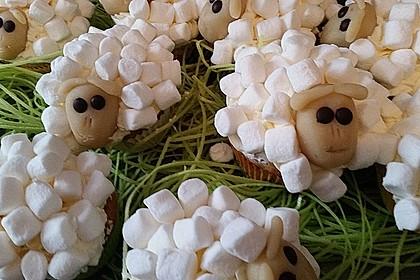 Cupcake-Schafe mit Marshmallow-Frosting 59