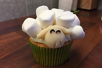 Cupcake-Schafe mit Marshmallow-Frosting 85
