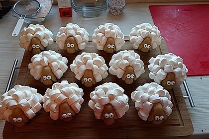 Cupcake-Schafe mit Marshmallow-Frosting 113