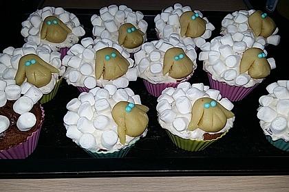 Cupcake-Schafe mit Marshmallow-Frosting 169