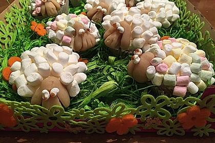 Cupcake-Schafe mit Marshmallow-Frosting 180