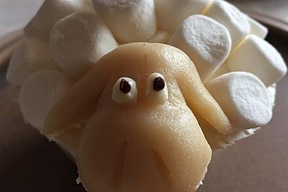 Cupcake-Schafe mit Marshmallow-Frosting 42