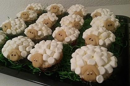 Cupcake-Schafe mit Marshmallow-Frosting 100