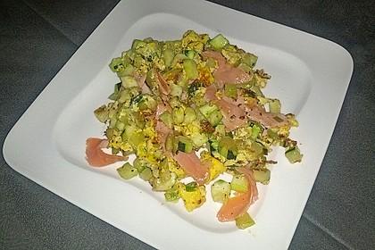 Zucchini-Ei-Pfanne 1