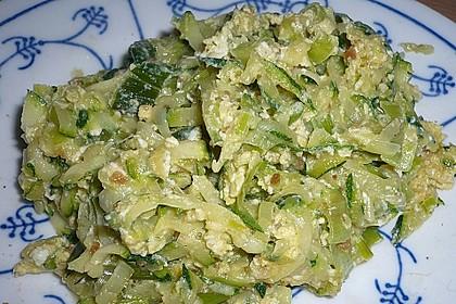 Zucchini-Ei-Pfanne