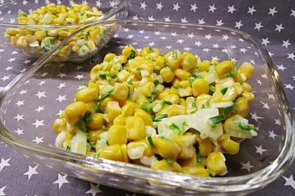 Maissalat mit feiner Senfcreme (Bild)
