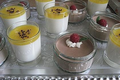 Limonen Mousse an Mangosauce 4