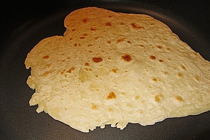 Quesadillas mit selbst gemachten Tortillas 2
