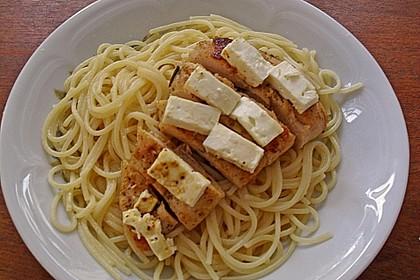 Gingers Thymian-Rosmarin-Feta-Hühnchen mit Pasta