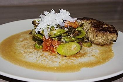 Spargel-Tomaten-Salat mit Parmesan 4