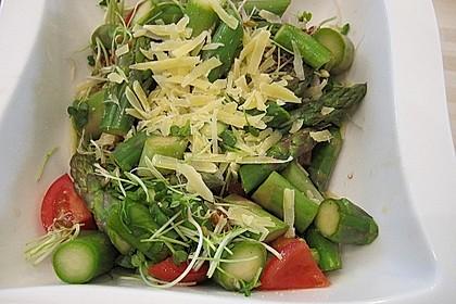 Spargel-Tomaten-Salat mit Parmesan 3