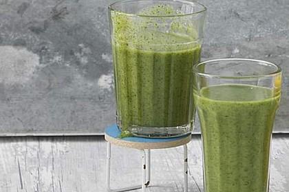 Grüner Frühstücks-Smoothie 1