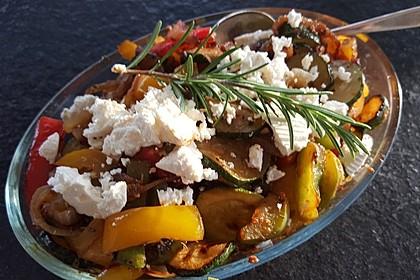 Blitz-Zucchini-Pfanne mit Pesto