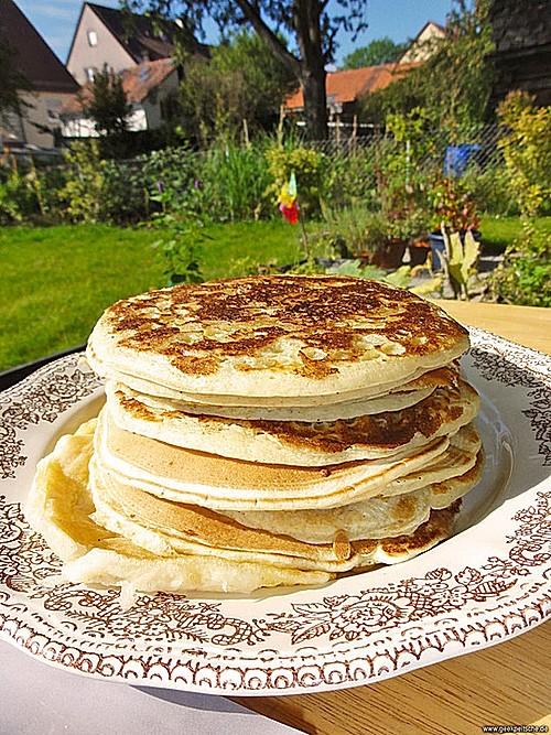 american pancakes rezept mit bild von oneeline. Black Bedroom Furniture Sets. Home Design Ideas