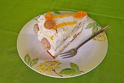 Pfirsich-Amaretto-Torte 1