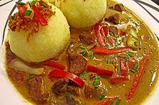 Paprika-Rahm-Gulasch