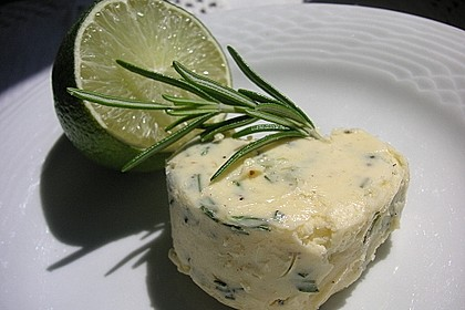Limetten-Rosmarin-Butter 2