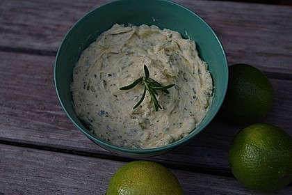 Limetten-Rosmarin-Butter 4