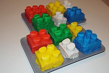 Baustein Kuchen
