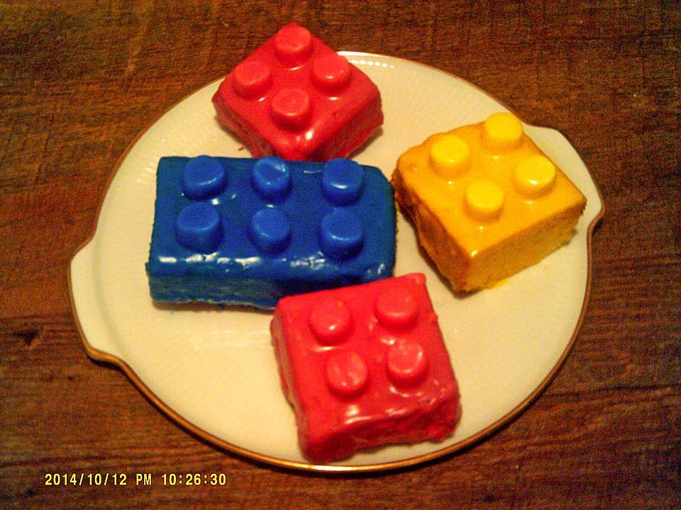 Lego baustein kuchen