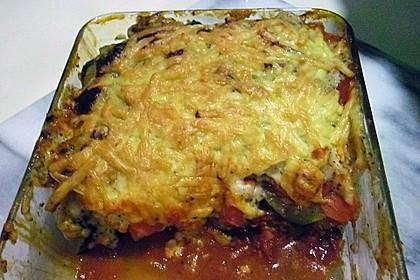 Kartoffel-Hackauflauf mit Zucchini und Möhren 1