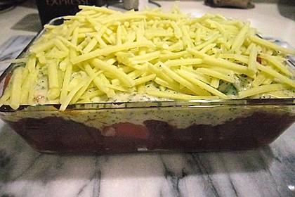 Kartoffel-Hackauflauf mit Zucchini und Möhren 2