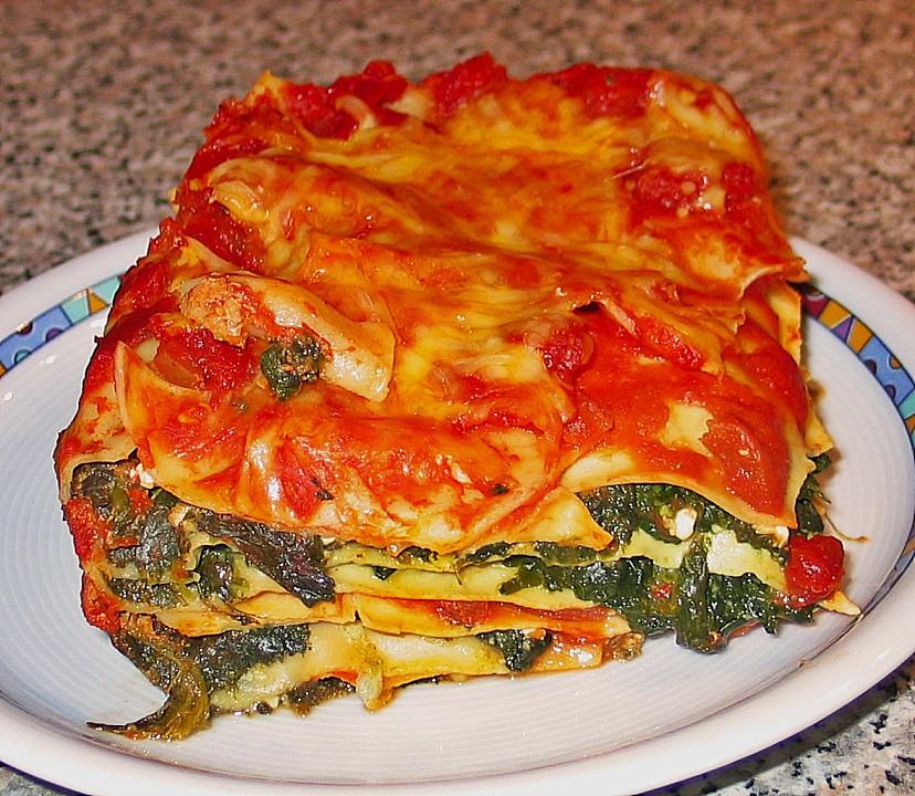 vegetarische lasagne la julia rezept mit bild. Black Bedroom Furniture Sets. Home Design Ideas