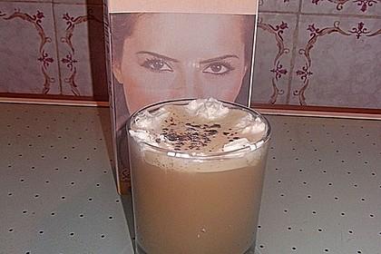 Soja-Eiskaffee