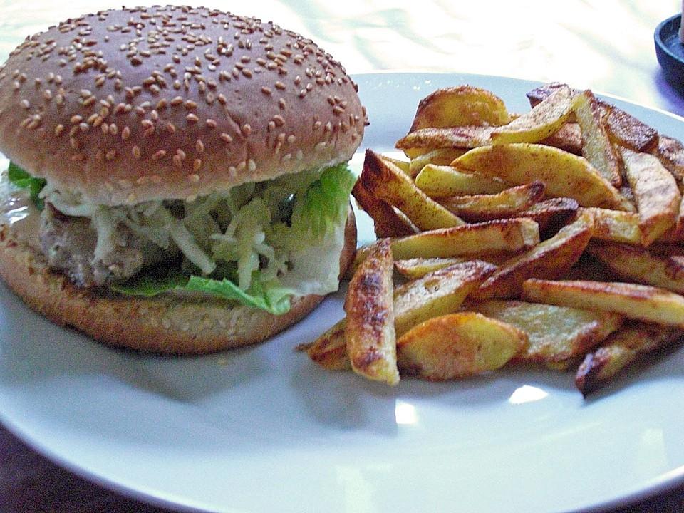 thunfisch burger mit pommes von stracatelabaeckchen. Black Bedroom Furniture Sets. Home Design Ideas