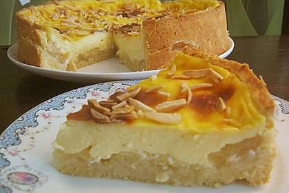 Apfeltorte mit Vanillepudding 5