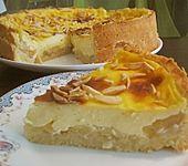 Apfeltorte mit Vanillepudding (Bild)
