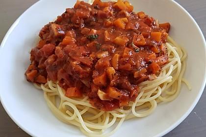 Karotten-Sellerie Bolognese 2