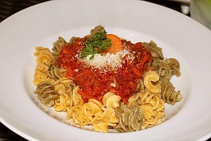 Karotten-Sellerie Bolognese 4