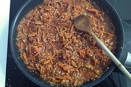 Karotten-Sellerie Bolognese 28