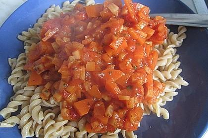 Karotten-Sellerie Bolognese 11