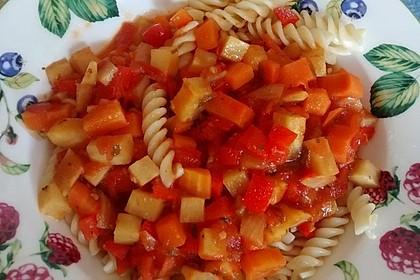 Karotten-Sellerie Bolognese 17