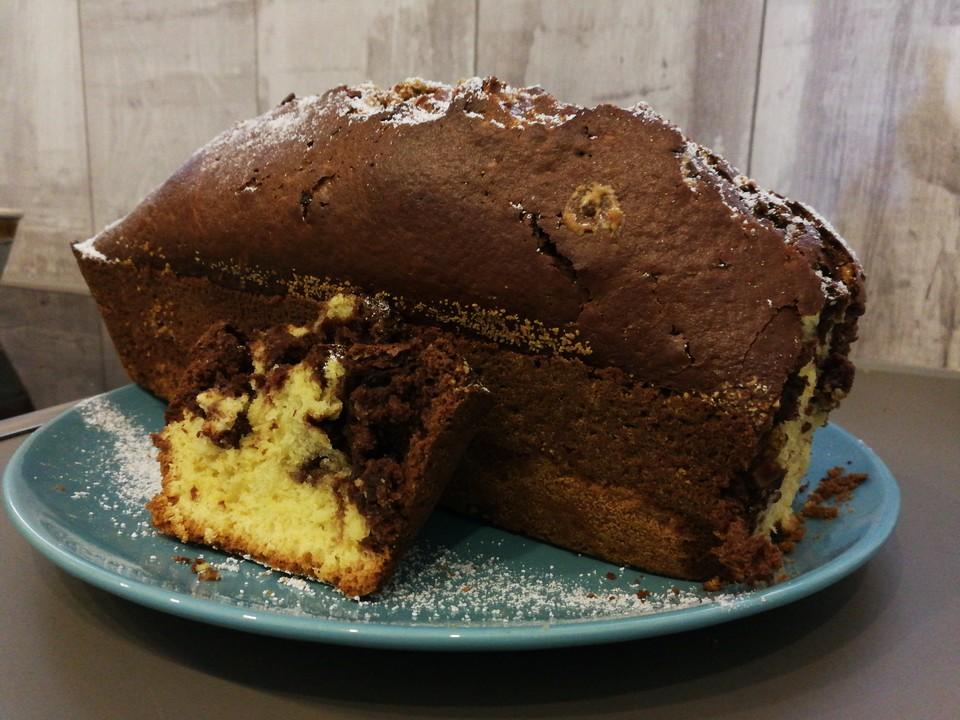 Marmorkuchen mit Sahne ohne Butter von kristina15
