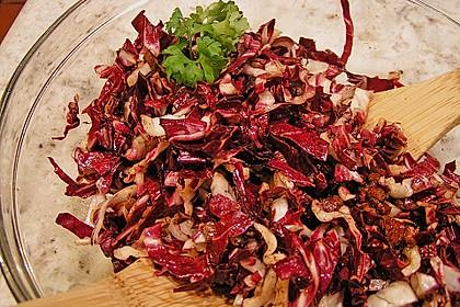 Radicchio-Speck Salat 1