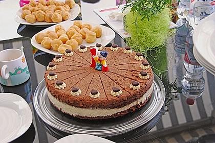 Bananen-Schokosahne Torte 2